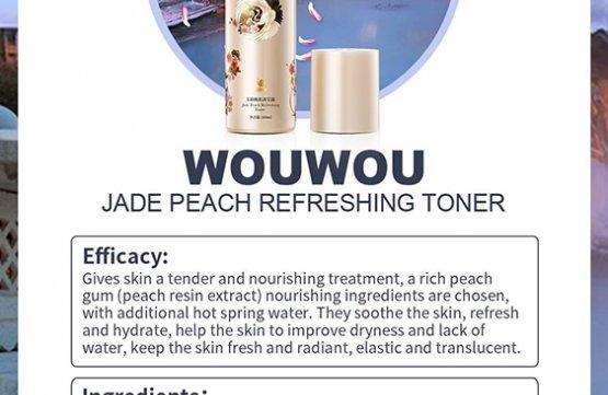 WOUWOU Peach Resin Refreshing Toner