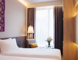 1 Night at Mercure on Stevens Superior Room with Buffet Breakfast for 2 Persons, 4-Course Set Meal for 2 People at Uncle Leong Signatures Waterway Point and Fat Freeze Treatment for 2 Person at Asia Wellness