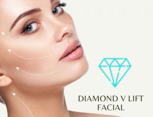 Diamond V lift facial at Amber Beila Raffles place