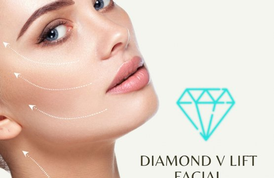 Diamond V lift facial at Amber Beila Raffles place