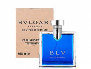 BVLGARI BLV POUR HOMME EDT 100ML TESTER