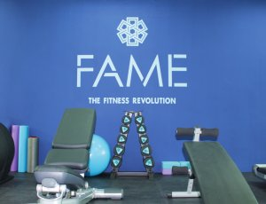 1 week 24/7 unlimited access gym pass at FAME