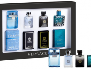 Christmas Gift Ideas: Versace Deluxe 4 Pcs Miniature Gift Set by Pink City