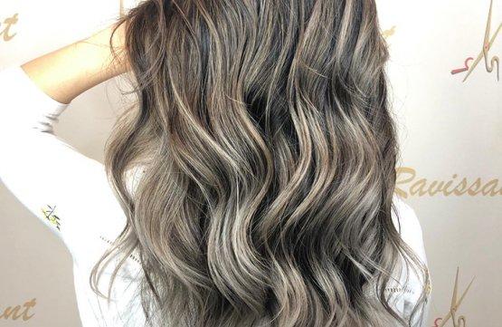 Airtouch / Balayage + Emulsion Treatment at Ravissant Hair Studio