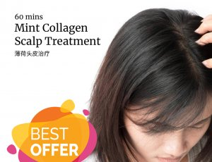 Mint Collagen Scalp Treatment at Spa Aperial Marine Terrace