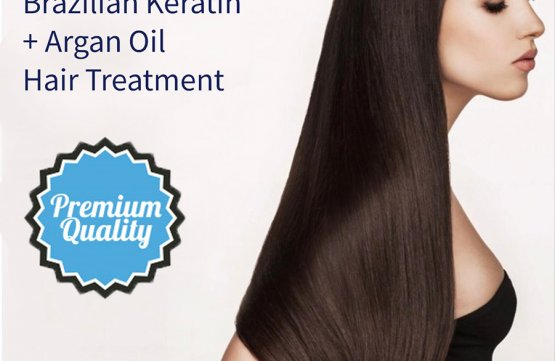 Brazilian Keratin + Argan Oil Hair Treatment at Spa Aperial Serangoon