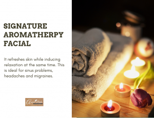 Signature Aromatherapy Facial at Amber Beila Raffles place