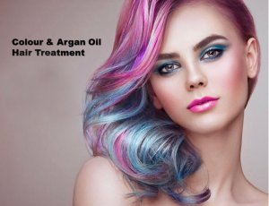 Color & Argan Oil Hair Treatment at Spa Aperial Serangoon