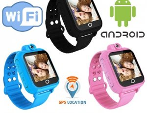Kids GPS/WIFI/ANDROID Smartwatch [Assorted Colors]