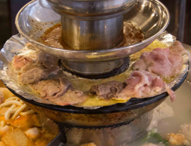 4-Tier Pagoda Steamboat Buffet on Weekdays at iSteamboat Chinese Restaurant