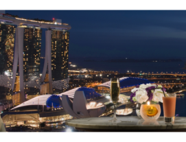 Pan Pacific for 2: Champagne Bkfst,HighTea, Evg Cocktails, Body Massage n Steamboat Buffet closeby!