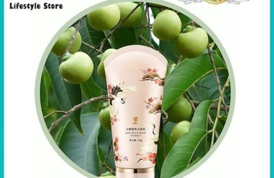 WOUWOU Peach Resin Facial Cleanser