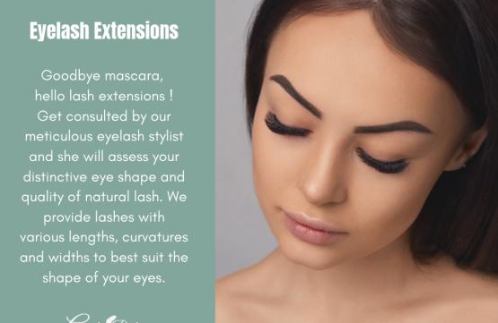 Eyelash Extensions ( Unlimted Strands ) at Amber Beila 14 Chun Tin
