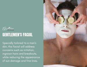 Gentlemen's Facial at Amber Beila Raffles place