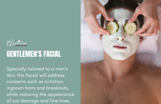 Gentlemen's Facial at Amber Beila Raffles place