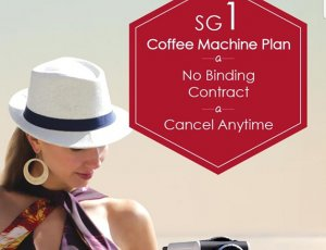ARISSTO SGD $1 Coffee Machine Plan at Genius R Us