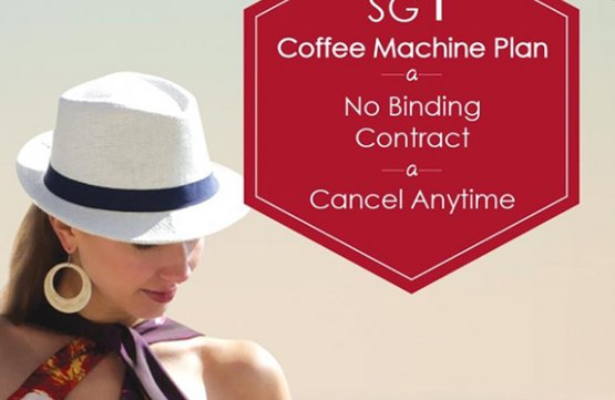 ARISSTO SGD $1 Coffee Machine Plan at Genius R Us