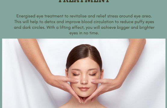 Energy eye treatment at Amber Beila Raffles place