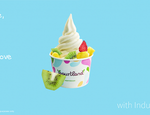 1 Plain Yogurt, 2 Choice of Topping and 2 Choice of Sauce for 1 Person at $4.90 at Yogurtland Suntec City