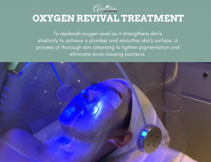 Oxygen Revival Treatment at Amber Beila Raffels place