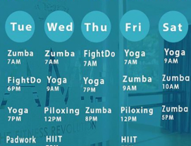 1 Month Unlimited Studio Classes for 1 Person at Fame.Sg