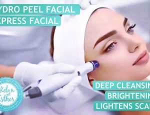 Fast Fix Facial - Hydro Peel/Photon LED/COOL HYDRO (40mins) at Kelyn Esther
