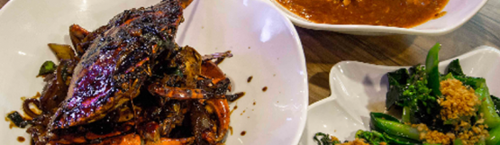 4-Course Set Meal Inclusive of 1 Crab for 2 People at Uncle Leong Signatures