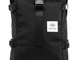 Water resistant  Unisex Laptop backpack Daily roll Top bag Travel business backpack