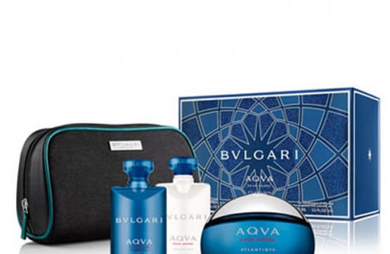 Gift Ideas: Bvlgari Aqva Pour Homme Atlantiqve Gift Set by Pink City