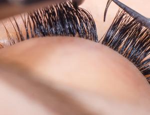Lash-by-Lash Korean Eyelash Extensions + Eyebrow Trimming for 1 Person (3 Sessions) at Skinn Ang Mo Kio
