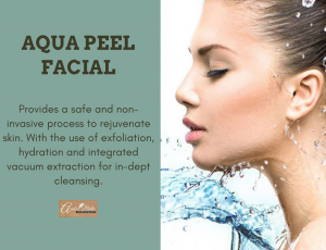 Aqua Peel Facial at Amber Beila Raffles place