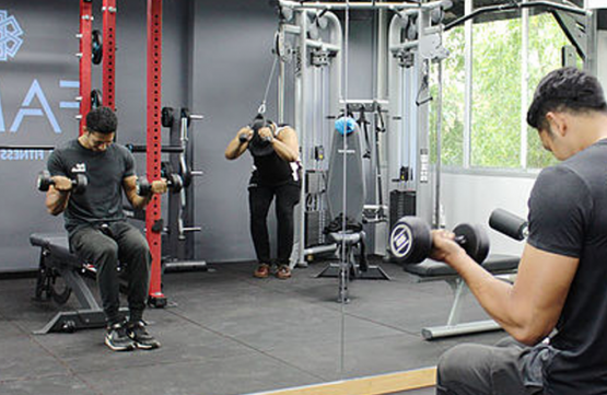 12-Month Gym Membership for 1 Person at Fame.Sg
