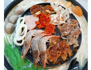 (Mon-Thu) Mookata Buffet + Free Flow of Drinks and Ice Cream at iSteamboat Chinese Restaurant