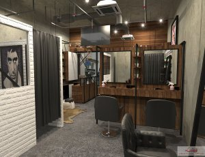 Single Tone Colouring +Stylist Cut & wash & blow at TIONG BAHRU