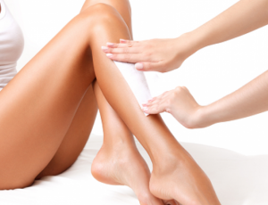 Half-Leg Waxing at Passionate Nails Great World City
