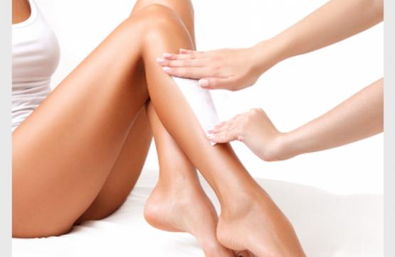Half-Leg Waxing at Passionate Nails Great World City