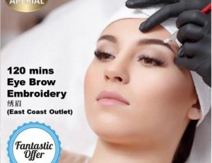 Eyebrow Embroidery (120 mins) at Spa Aperial Marine Terrace