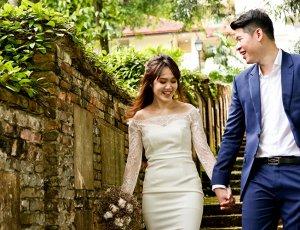 3-Hours Pre-Wedding Outdoor Photoshoot