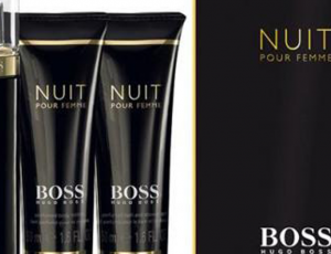 Christmas Gift Ideas: Hugo Boss Nuit Pour Femme 3 Pcs Gift Set by Pink City