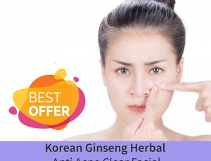 Korean Ginseng Herbal Anti Acne Clear Facial (75 mins) at Spa Aperial Marine Terrace