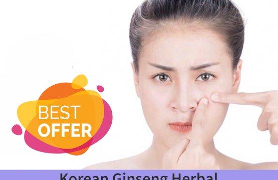 Korean Ginseng Herbal Anti Acne Clear Facial (75 mins) at Spa Aperial Serangoon