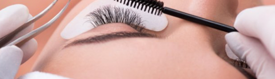 Glamour Beauty: Eyelash Extension and Eyebrow Shaping for 1 Person at Singpost Centre