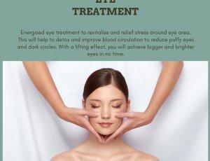 Energy eye treatment at Amber Beila 14 Chun Tin