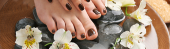 Glamour Beauty: Classic Manicure and Pedicure for 1 Person at Hougang Mall