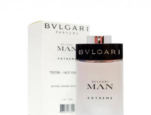 BVLGARI MAN EXTREME EDT 100ML TESTER