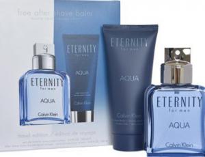 Gift Ideas: Calvin Klein Eternity Aqua Men 2 Pcs Gift Set by Pink City