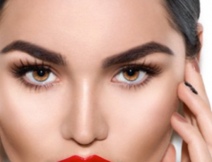 Glamour Beauty: Eyebrow Embroidery + Shaping + Touch-Up for 1 Person (1 Session) at Singpost Centre