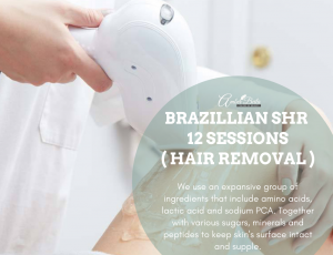 Brazillian SHR ( 12 Sessions ) at Amber Beila Raffels place